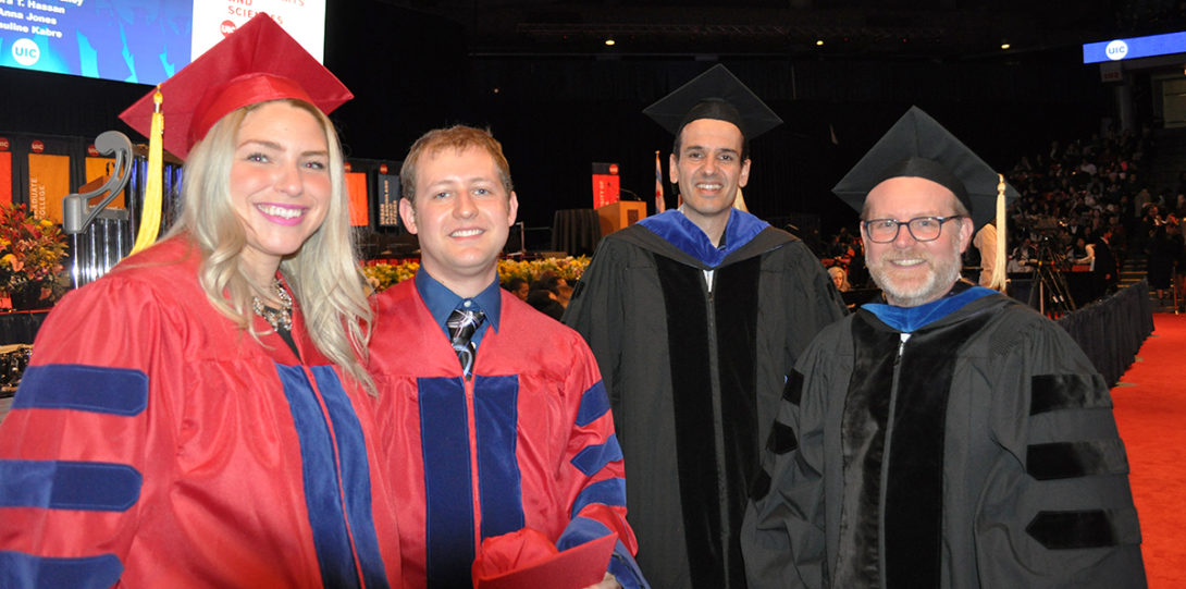 Students and faculty attended LAS graduation on May 13, 2018.