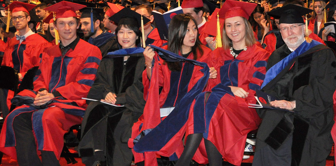 Both graduate and undergraduate students attended LAS Commencement on May 13, 2018.