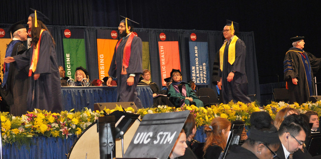 All 101 of our graduates received diplomas.