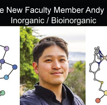 Andy Nguyen is our newest faculty member!