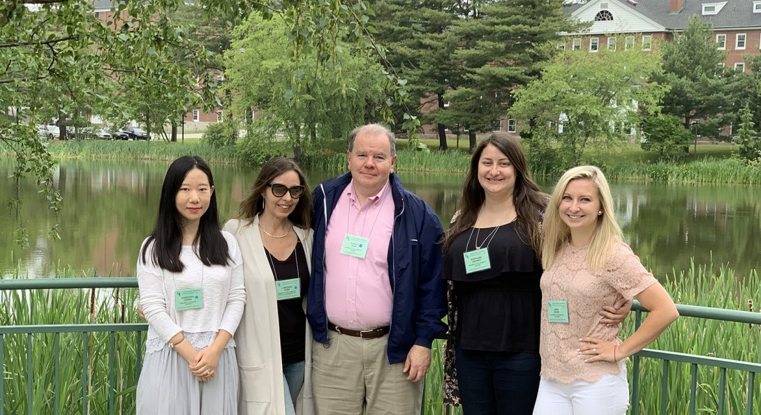 Several UIC educators presented at the GRC conference at Bates College this summer.
