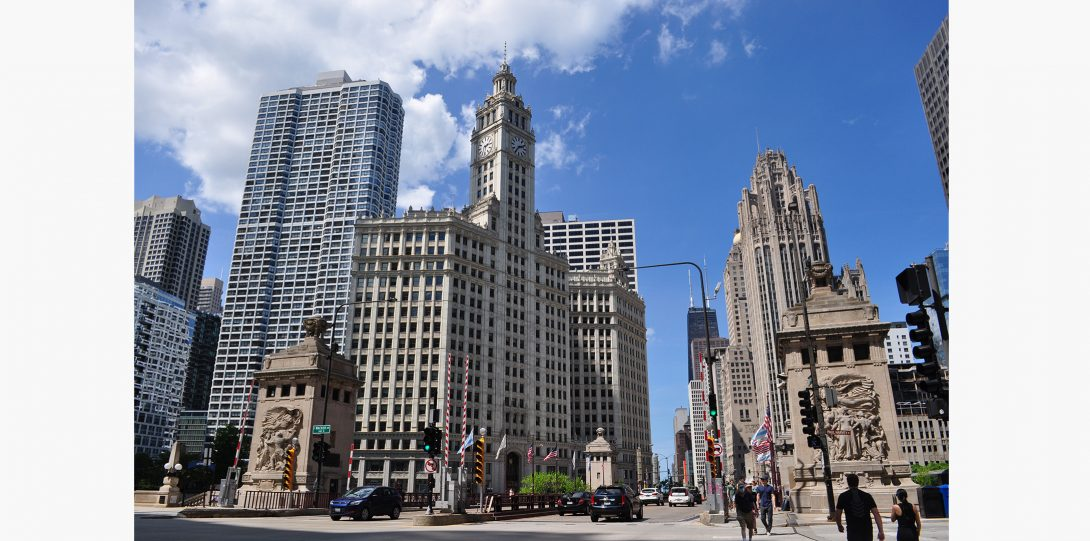 The Wrigley Building is a Chicago icon.