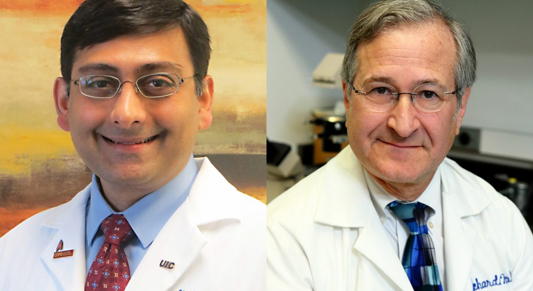 Dr. Jerry Krishnan and Dr. Richard Novak are PIs on drug discovery for COVID-19 treatment.