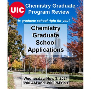 We are hosting a webinar to explain the graduate application process.